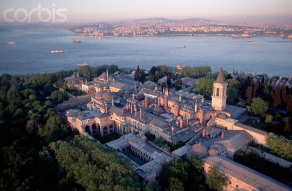 Aerial View of Topkapi Palace